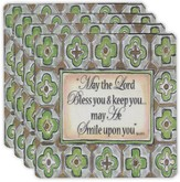 May The Lord Bless You Coaster Set
