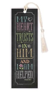 My Heart Trusts In Him Bookmark