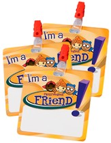 FaithWeaver Friends Name Badges, Package of 5, Fall 2013