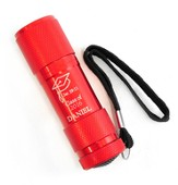 Personalized, Flashlight, Graduation, Red