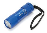Personalized, Nail Cross Flashlight, Blue