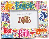 Believe, Faith, Trust Wall Photo Frame