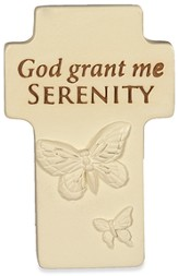 God Grant Me Serenity Cross