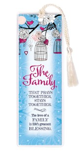 The Family That Prays together Bookmark