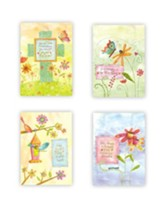 Whimsical Words Blank Notes, Box of 12
