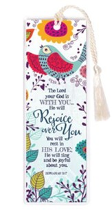 The Lord Your God Is With You Bookmark