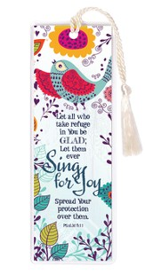 Let All Who Take Refuge In You Be Glad Bookmark
