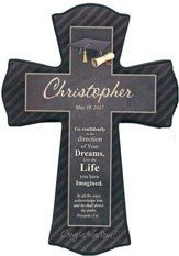 Personalized, Graduation Cross. Small