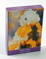 Iris Blank Notes, Box of 20