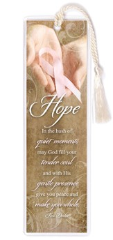 Hope Pink Ribbon Bookmark