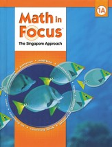 Math in Focus: The Singapore Approach Grade 1 Student Book A
