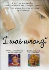 I Was Wrong, DVD
