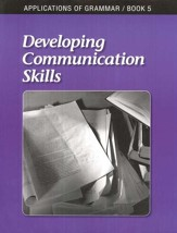 Applications of Grammar Book 5: Developing Communication Skills,  Grade 11