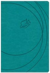 NKJV New Spirit Filled Life Bible, Imitation Leather, Revised, Turquoise Indexed