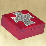 The Lord's Call--Engravable Cherry Wood Keepsake Box