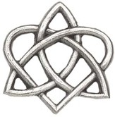 Celtic Trinity Heart Pin