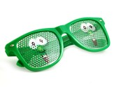 Veggie Tales Party Glasses-Larry  - Slightly Imperfect