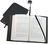 Periscope(R) Bookcover with Light, Large, Black  - Slightly Imperfect