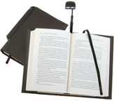 Periscope(R) Bookcover with Light, Large, Brown