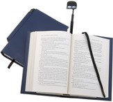 Periscope(R) Bookcover with Light, Large, Blue