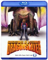 Adventures Of a Teenage Dragon Slayer, Blu-ray
