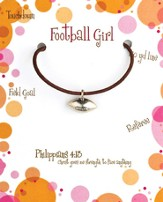 Football Necklace, Philippians 4:13