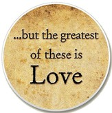Greatest of These is Love Auto Coaster