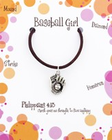 Baseball Necklace, Philippians 4:13