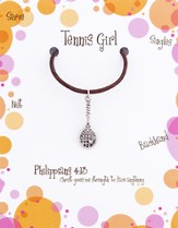Tennis Necklace, Philippians 4:13