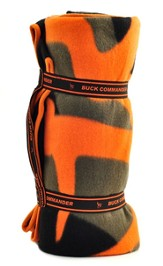 Duck Dynasty, Buck Commander Fleece Blanket Orange Logo