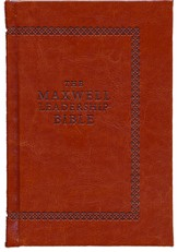 NKJV Maxwell Leadership Bible, Revised & Updated, Briefcase Edition Coffee, Hardcover (Briefcase Edition)