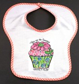 Cupcake Bib, You Are the Sweetest Blessing