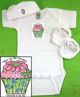 Cupcake Newborn Gift Set, You Are the Sweetest Blessing