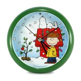 Peanuts Holiday Clock
