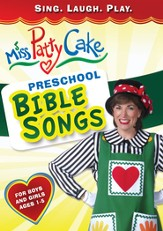 Miss PattyCake: Preschool Bible Songs, DVD