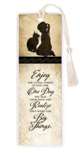 Enjoy the Little Things Bookmark