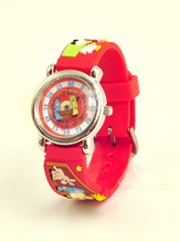 Nativity Child's Watch, Red