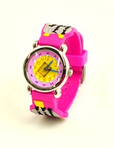 Ten Commandments Child's Watch, Pink