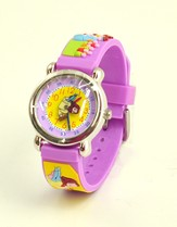 Loaves and Fishes Child's Watch, Purple