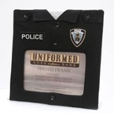 Police Single 4x6 Frame with Cross