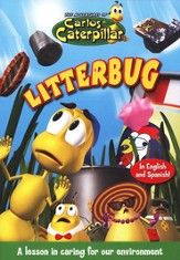 The Adventures of Carlos Caterpillar: Litterbug, DVD