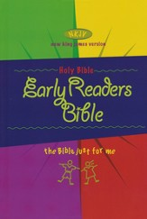 NKJV Early Reader's Bible, Hardcover