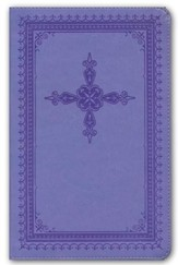 NKJV Ultraslim Bible, Imitation Leather, Lavender
