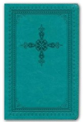 KJV Ultraslim Bible, Imitation Leather, Turquoise
