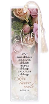 Love Bears All Things Bookmark