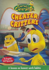 The Adventures of Carlos Caterpillar: Cheater Critters, DVD