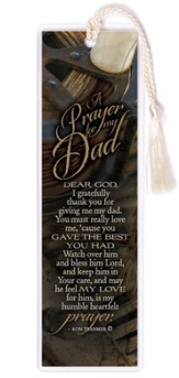 A Prayer for My Dad Bookmark