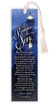 A Prayer for My Son Bookmark