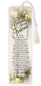 A Prayer for My Friend Bookmark