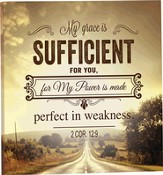 Canvas Mounted Print - My Grace is sufficient